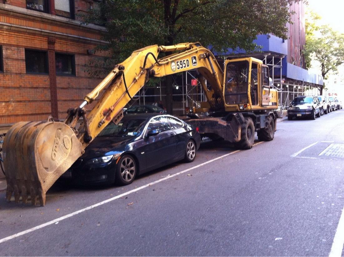 aparcamiento peligroso