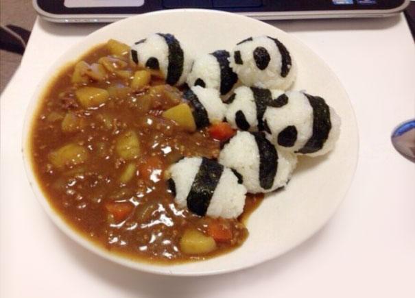 comida japonesa divertida