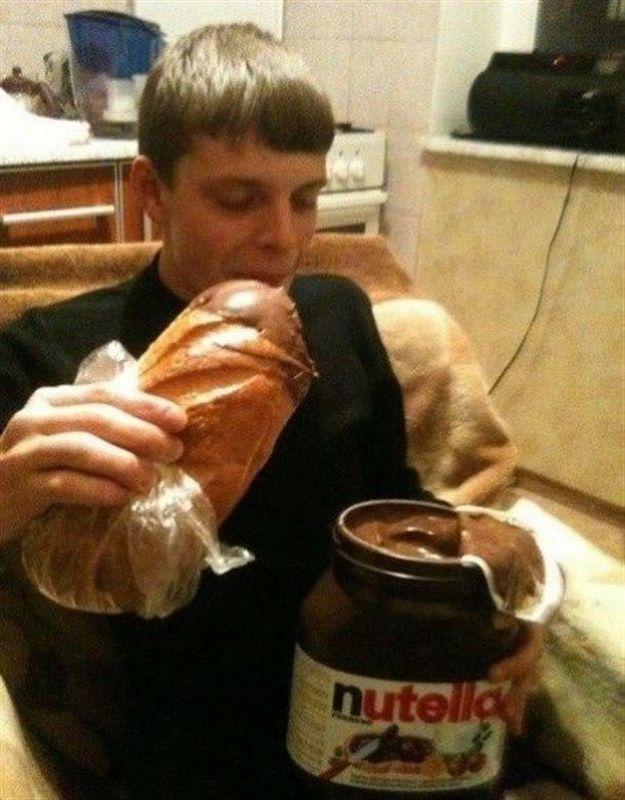 bocadillo Nutella