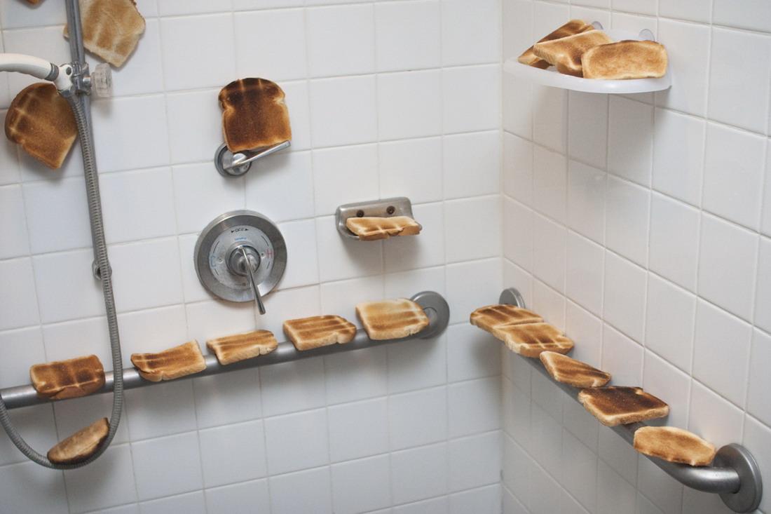 desayunar mientras te duchas