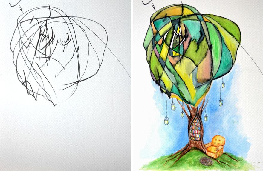dibujos arte 5
