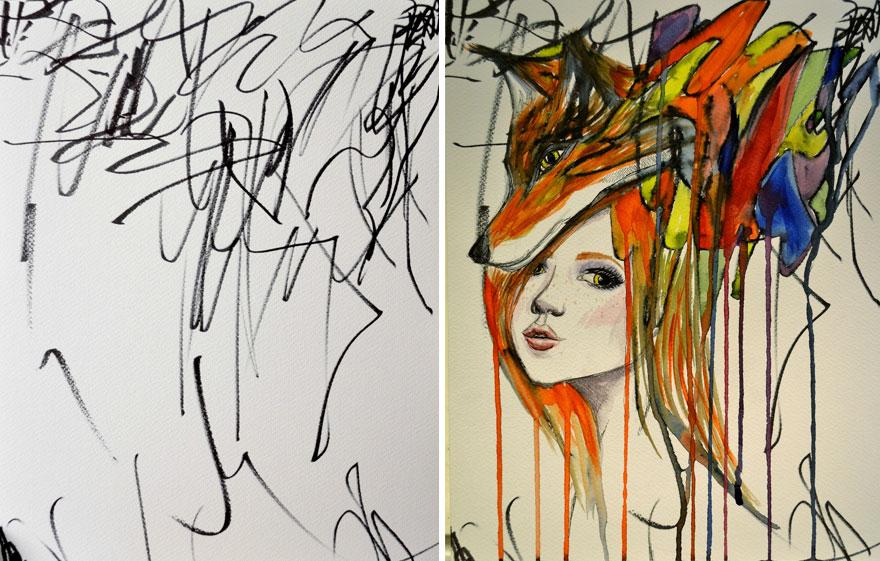 dibujos arte