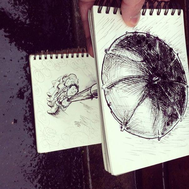 dibujos interactuan con el entorno 2