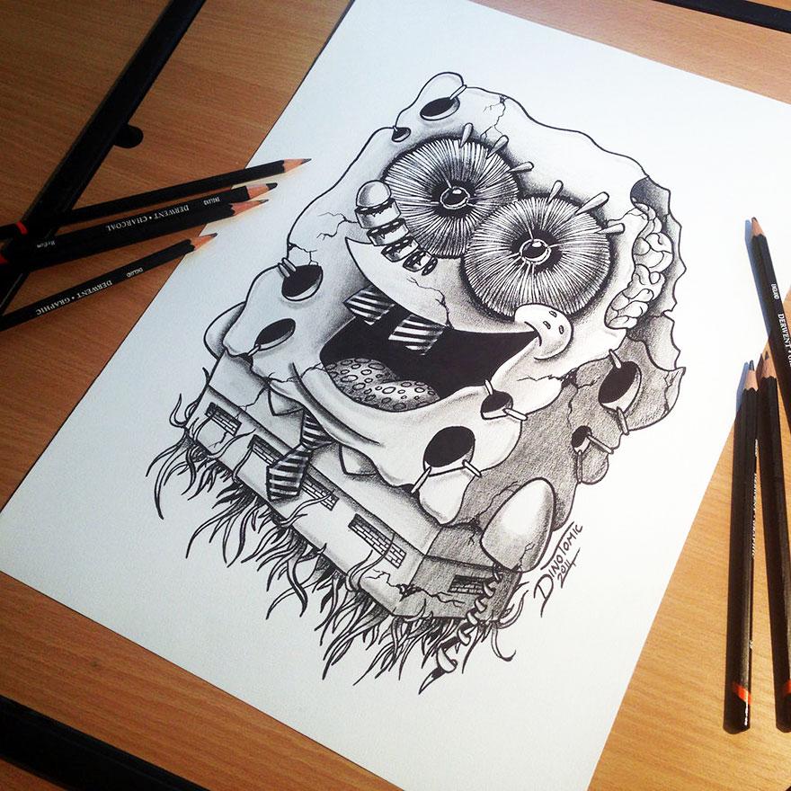 expresivos dibujos 11