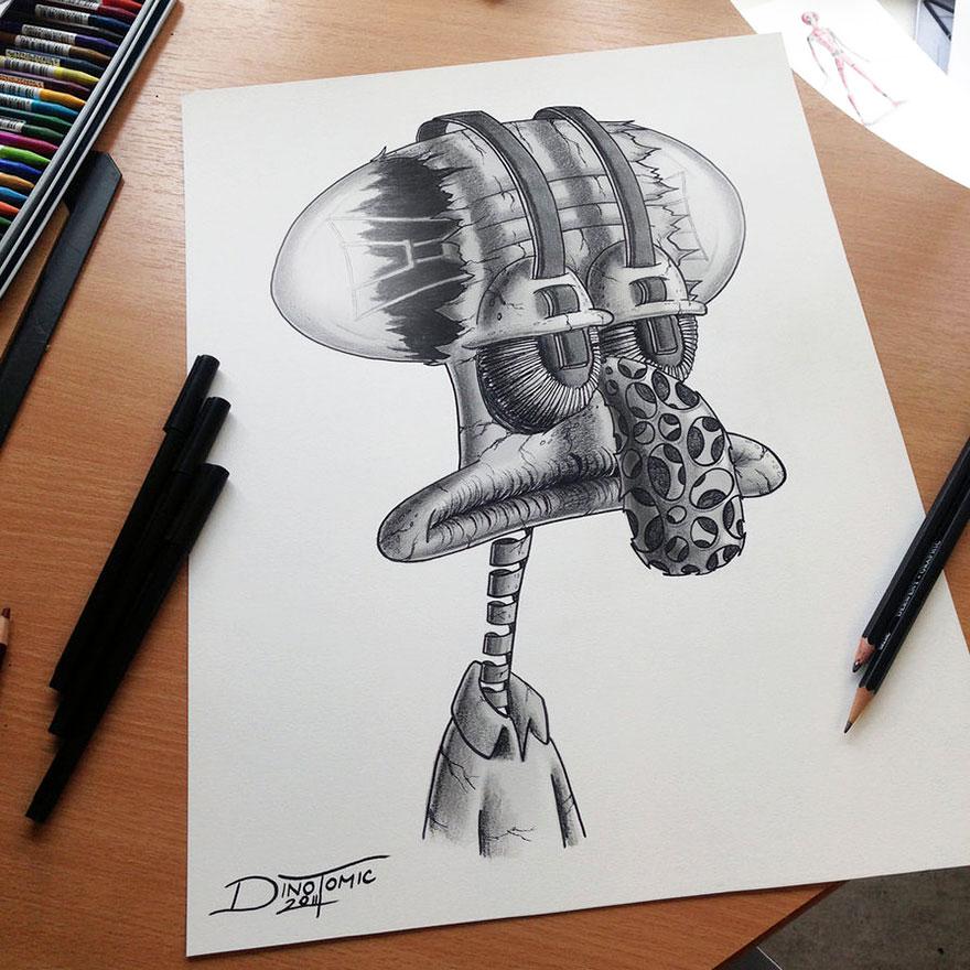 expresivos dibujos 13