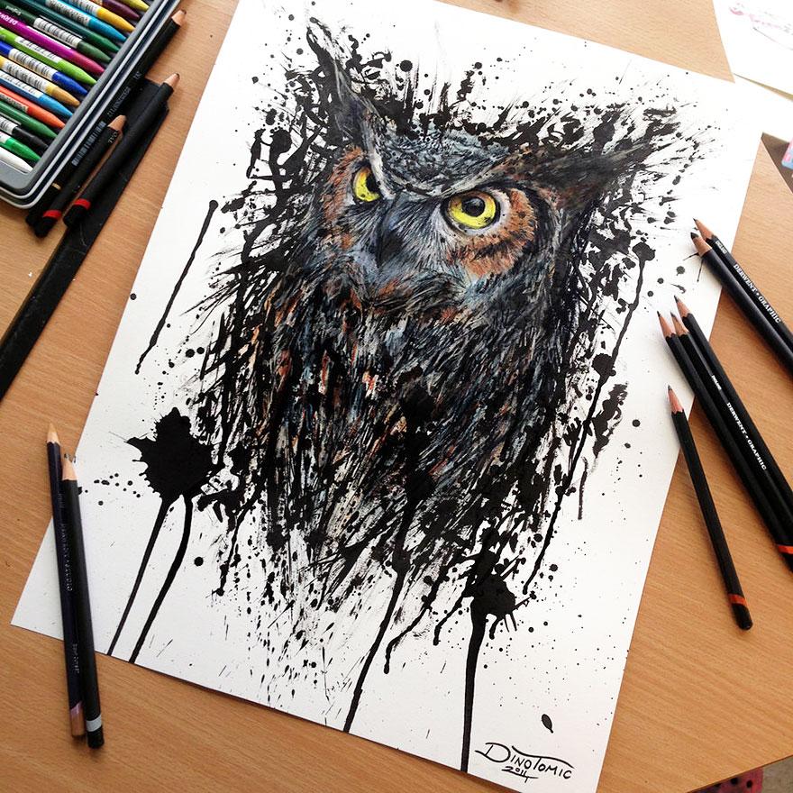 expresivos dibujos