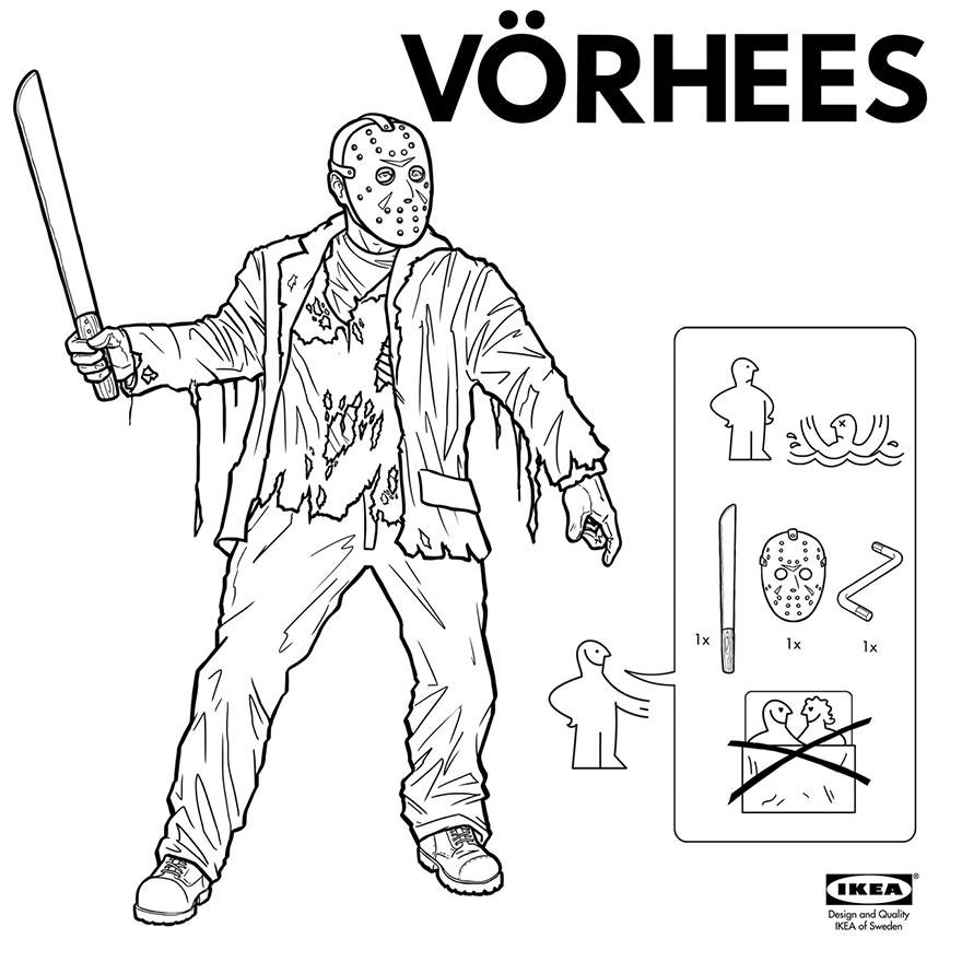 instrucciones IKEA para crear monstruos 3