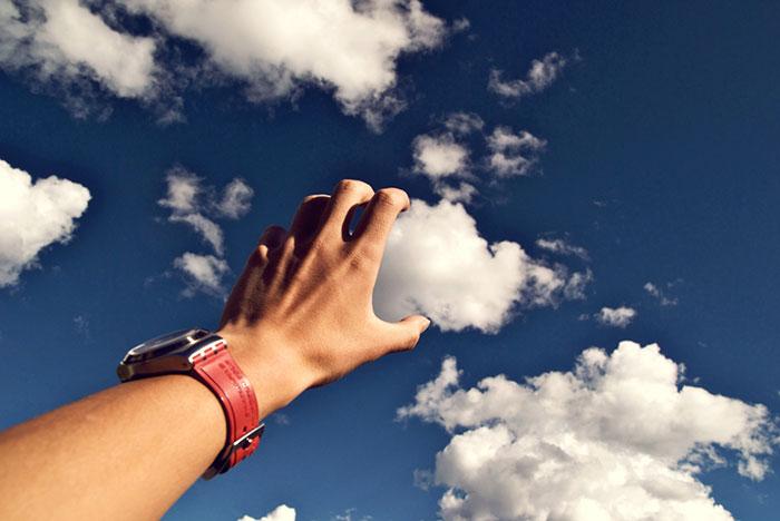 jugando con las nubes 5