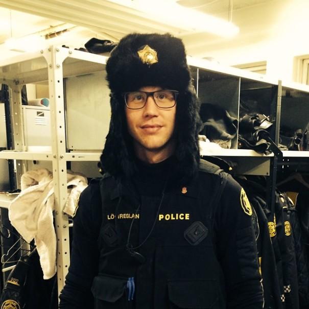 policia de Reikiavik 22