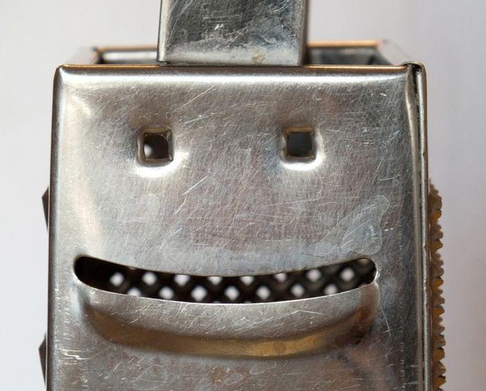 rallador sonriente