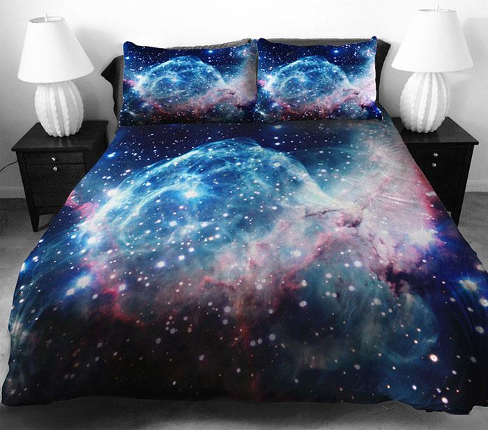 ropa de cama galactica 4