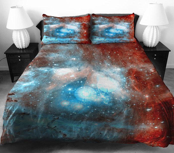 ropa de cama galactica 6