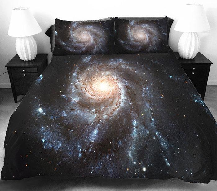 ropa de cama galactica