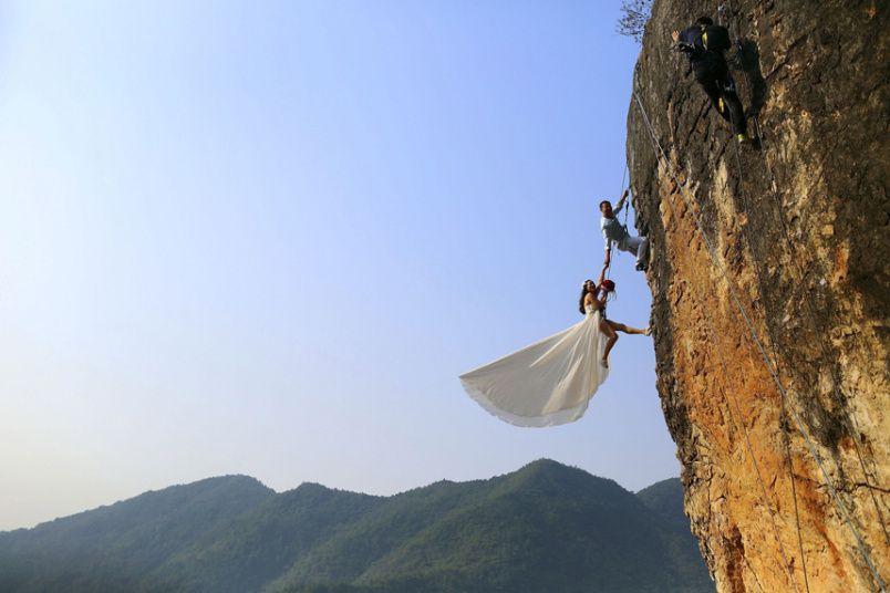 foto boda diferente