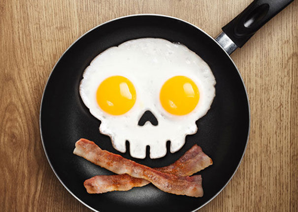huevos convertidos en calaveras 5