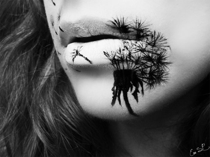 ideas maquillaje labios halloween 10