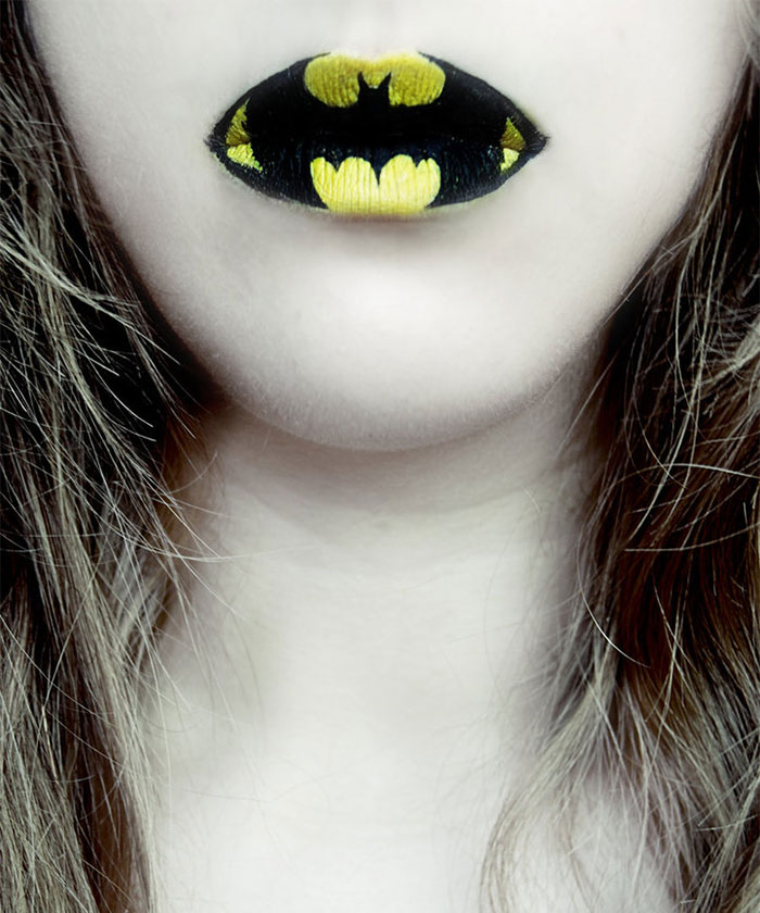 ideas maquillaje labios halloween 14
