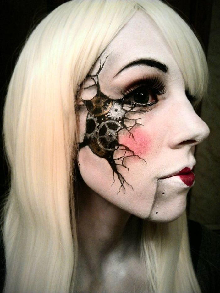 maquillaje Halloween 16