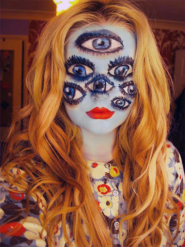 maquillaje Halloween 20