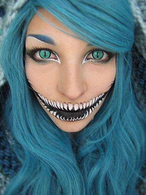 maquillaje Halloween 4