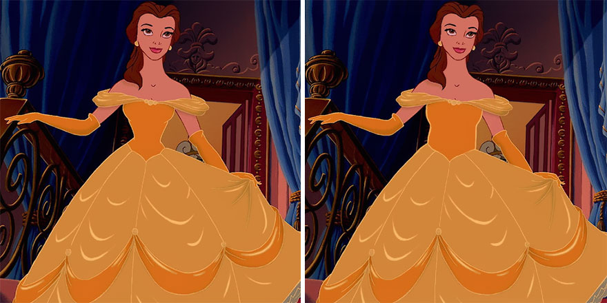 princesas disney cintura mas real 4
