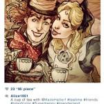'Selfies' de los personajes Disney