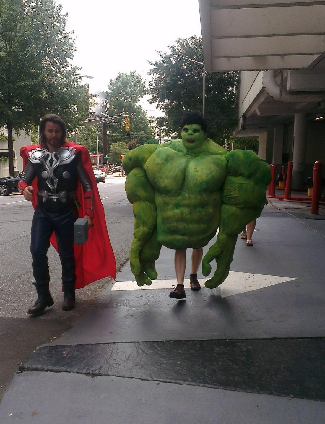 Hulk con piernecillas