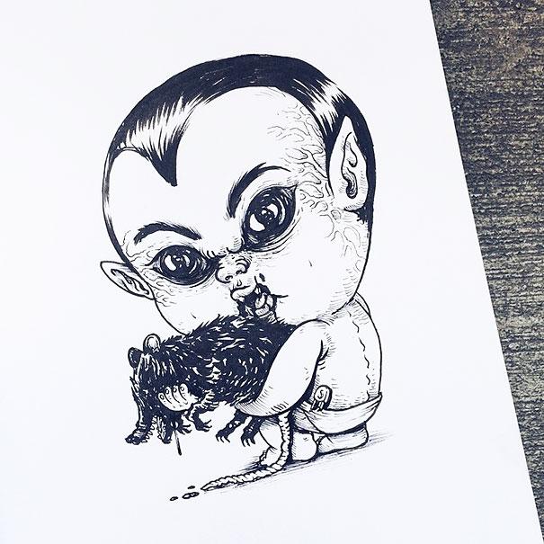 bebes terrorificos 9