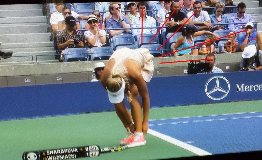 demasiado interes por el tenis femenino