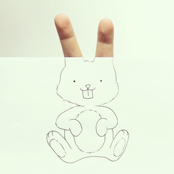dibujos manos 2