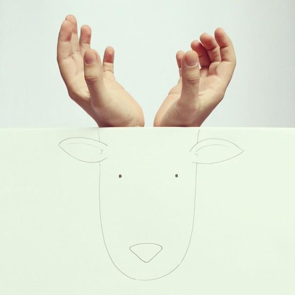 dibujos manos 3