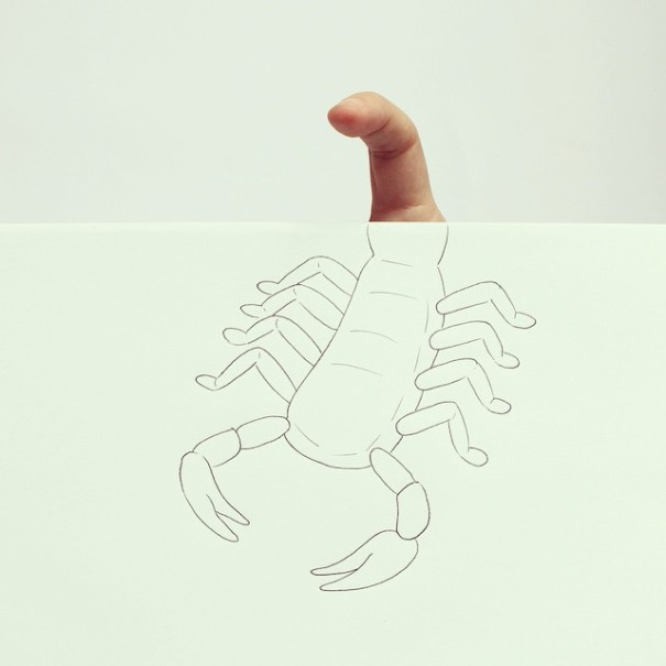 dibujos manos 7