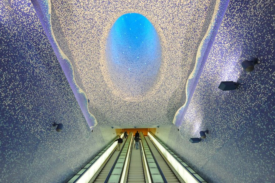 estaciones de Metro alucinantes