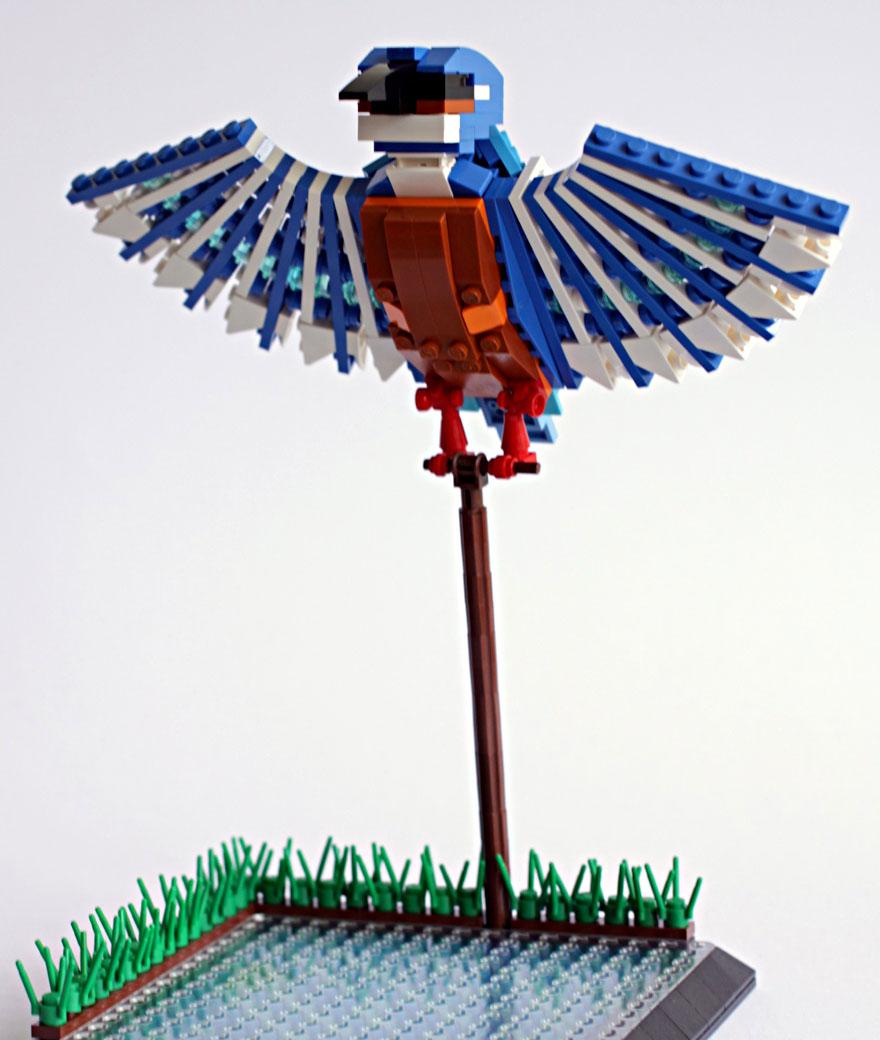 pajaros lego 8