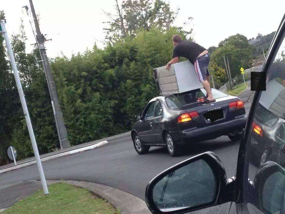 por no alquilar una furgoneta