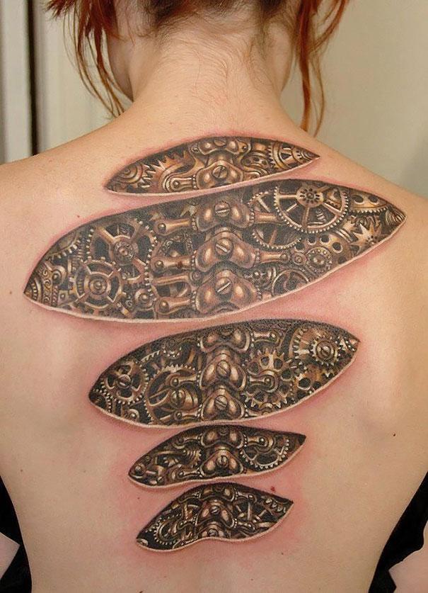 tatuajes en 3D 12
