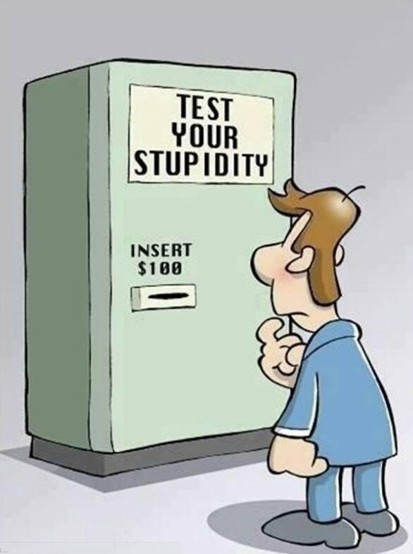 test de estupidez