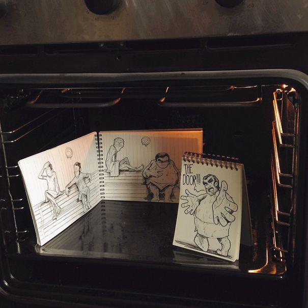 dibujos calle 11