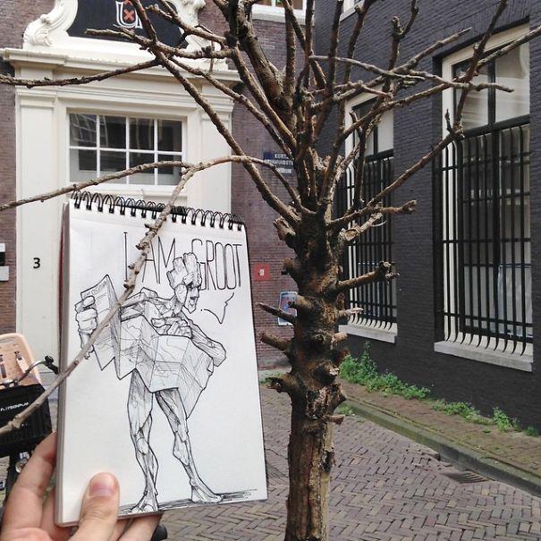 dibujos calle 12