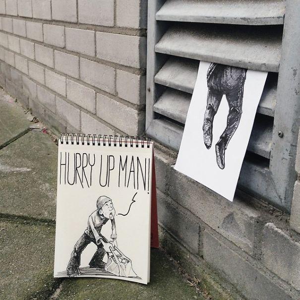 dibujos calle 13