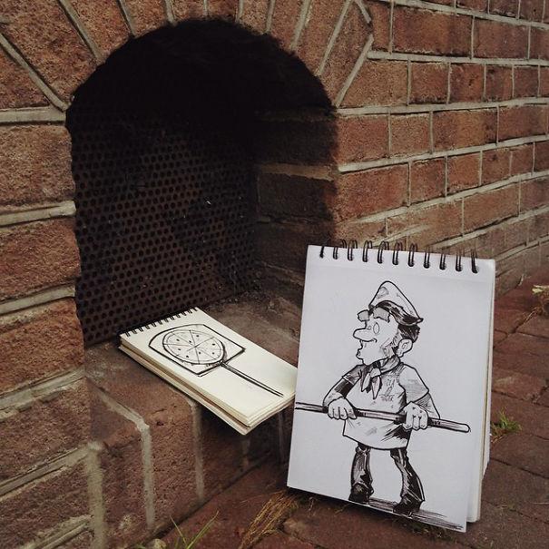 dibujos calle 2