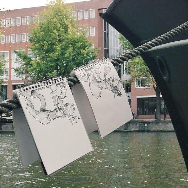 dibujos calle 20