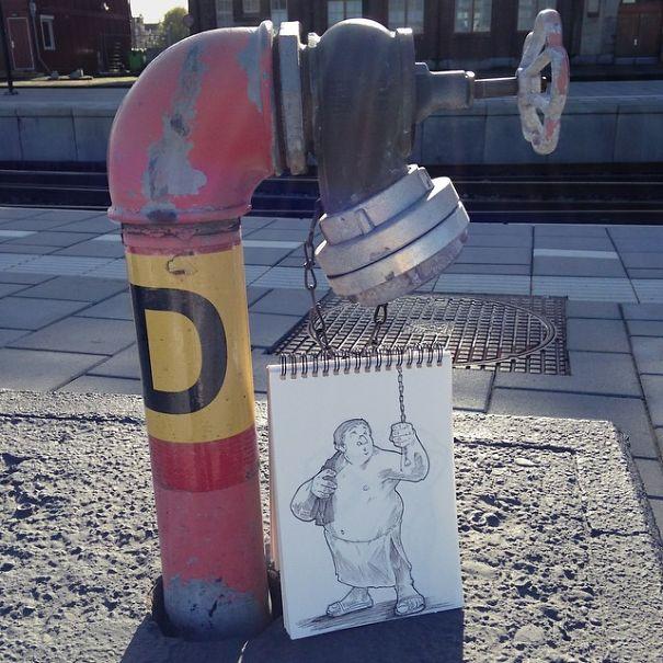 dibujos calle 21