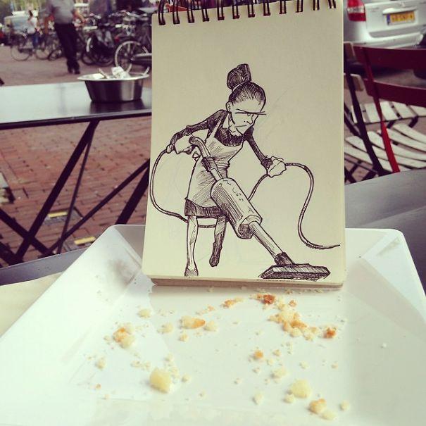 dibujos calle 22
