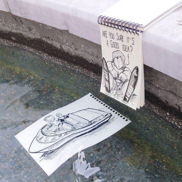 dibujos calle 24