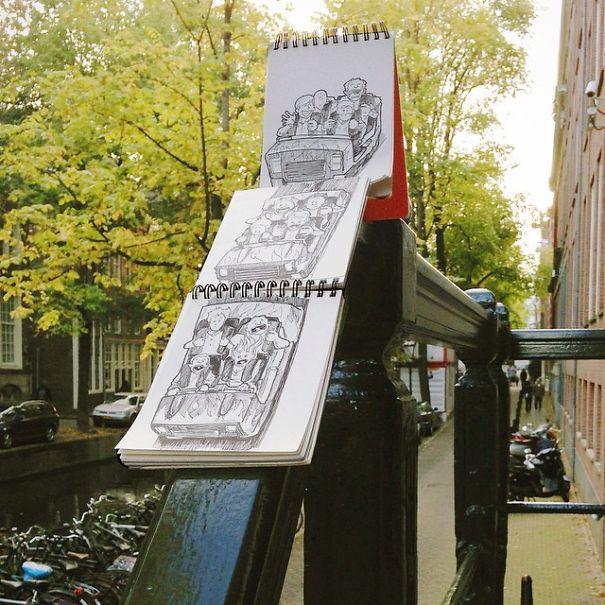dibujos calle 25