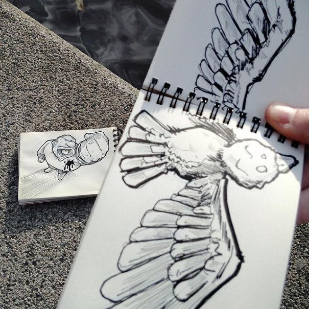 dibujos calle 30