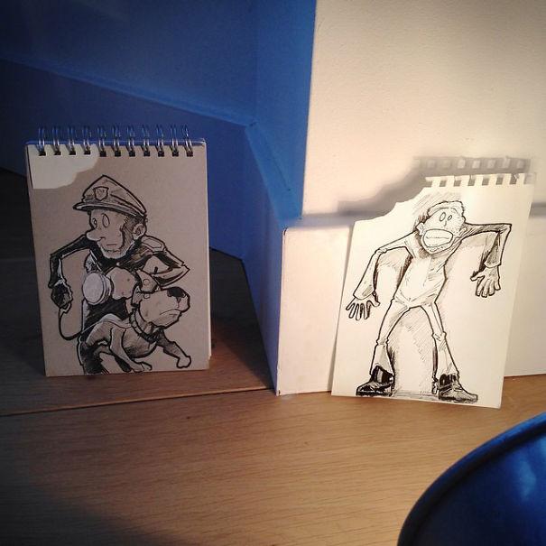 dibujos calle 31