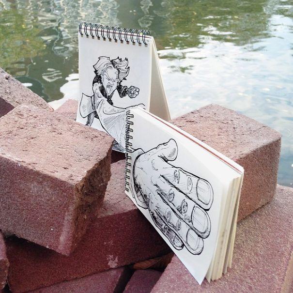 dibujos calle 5