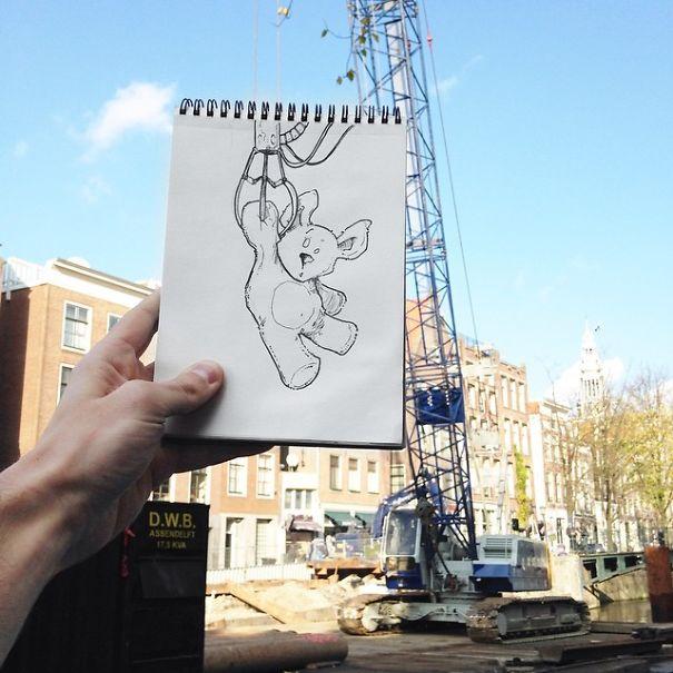 dibujos calle